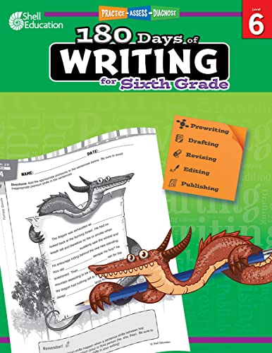 9781425815295: 180 Days of Writing for Sixth Grade (180 Days of Practice)