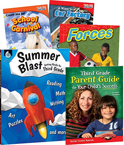 Learn-At-Home: Summer Stem Bundle with Parent Guide: Teacher Created Materials,