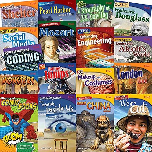 Time Grades 6-8 Set 2, 17-Book Set: Teacher Created Materials
