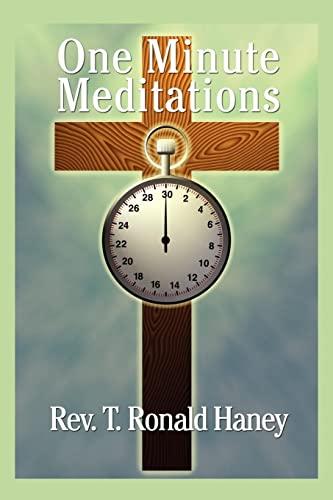 9781425931865: One Minute Meditations