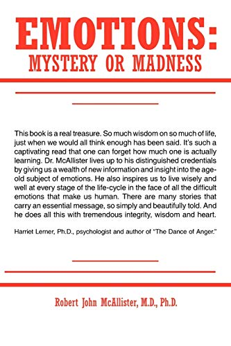 9781425982447: Emotions: Mystery or Madness