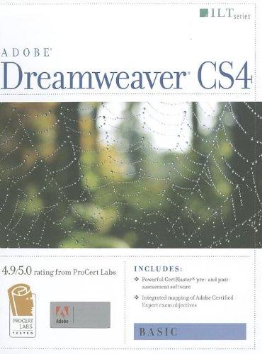 9781426004988: Adobe Dreamweaver CS4 Basic, ACE Edition (ILT)