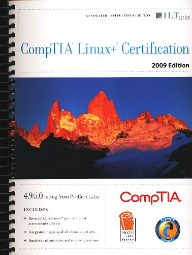 Comptia Linux+ Certification 2009 Edition + CertBlaster Instructors Edition (1426017839) by Axzo Press