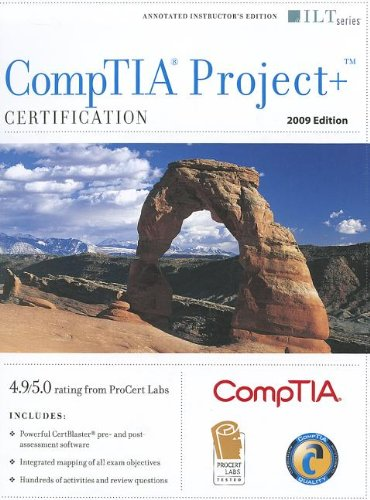 Comptia Project+ Certification: Instructor's Edition (Ilt): Furst, J.