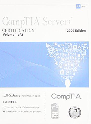 9781426019050: CompTIA Server+ Certification (ILT)