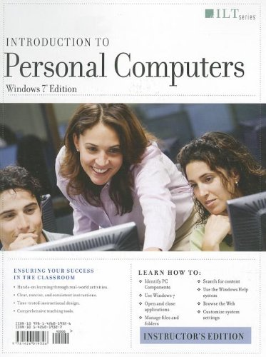 9781426019326: Introduction to Personal Computers, Windows 7 Edition + Certblaster (ILT)