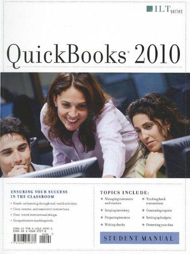Quickbooks 2010 + Data (ILT): Axzo Press