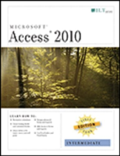 Word 2010: Intermediate, First Look Edition, Student Manual (9781426019708) by Axzo Press