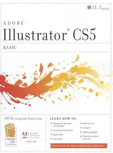 9781426021015: Illustrator CS5: Basic ACE Edition and CertBlaster Student Manual (ILT)