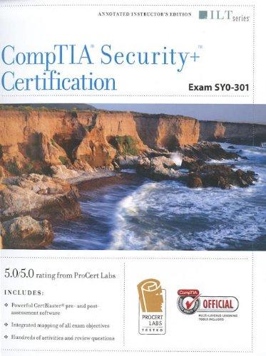 9781426028335: Comptia Security / Certification, Exam SY0-301 / Certblaster (ILT)