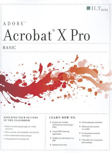 Acrobat X Pro: Basic (ILT): Axzo Press