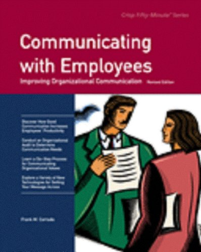 9781426091117: Communicating with Employees