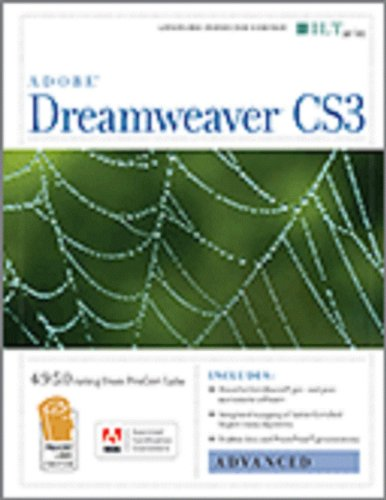9781426097232: Dreamweaver Cs3: Advanced, Ace Edition + Certblaster, Student Manual with Data (ILT)