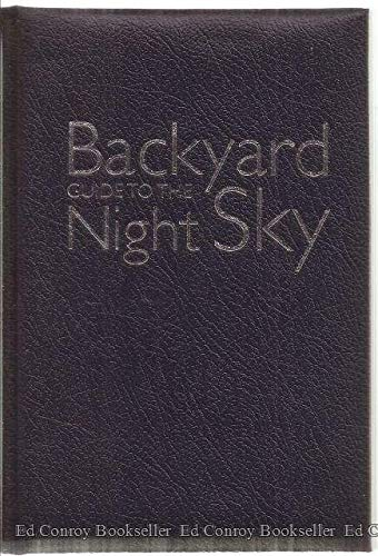 9781426205392: National Geographic Backyard Guide to the Night Sky
