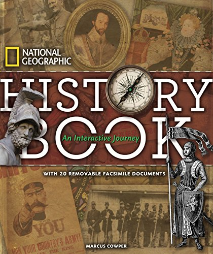 National Geographic History Book (Hardcover): Marcus Cowper
