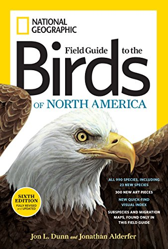 9781426208287: National Geographic Field Guide to the Birds of North America, Sixth Edition (National Geographic Field Guide to Birds of North America)