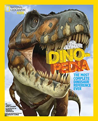 9781426301643: National Geographic Kids Ultimate Dinopedia: The Most Complete Dinosaur Reference Ever