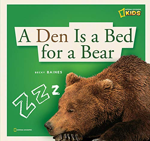 ZigZag: A Den Is a Bed for a Bear: Baines, Becky