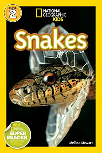 National Geographic Readers: Snakes! (1426304285) by Melissa Stewart
