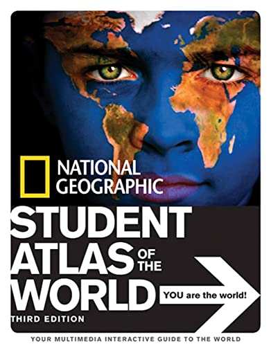9781426304453: National Geographic Student Atlas of the World Third Edition