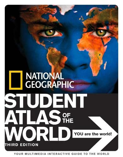 9781426304460: National Geographic Student Atlas of the World Third Edition (National Geographic Student Atlas of the World (Quality))
