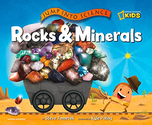9781426305382: Jump into Science: Rocks and Minerals