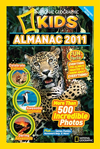 9781426306846: National Geographic Kids Almanac 2011 International edition