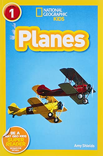 9781426307126: National Geographic Kids Readers: Planes (National Geographic Kids Readers: Level 1 )