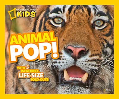 9781426307164: Animal Pop!: With 5 Incredible, Life Size Fold-outs (In Your Face)