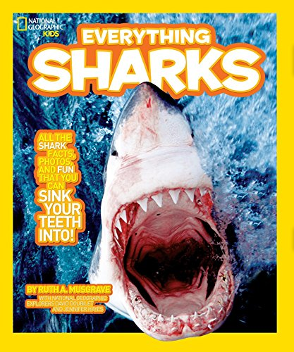 9781426308024: National Geographic Kids Everything Sharks: All the shark facts, photos, and fun that you can sink your teeth into
