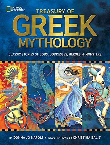 9781426308925: Treasury of Greek Mythology