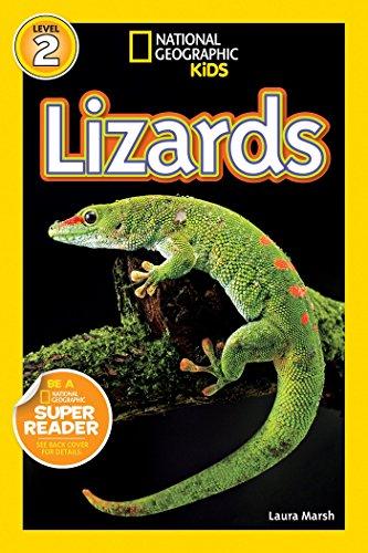 National Geographic Readers: Lizards: Marsh, Laura