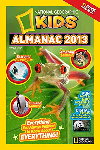 9781426309274: National Geographic Kids Almanac 2013, Canadian Edition