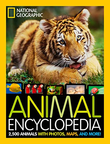 9781426310225: Animal Encyclopedia: 2,500 Animals with Photos, Maps, and More! (Encyclopaedia )