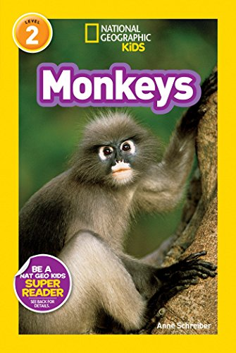 9781426311062: National Geographic Kids Readers: Monkeys (National Geographic Kids Readers: Level 2 )