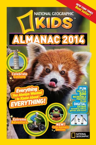 9781426311208: National Geographic Kids Almanac 2014, Canadian Edition