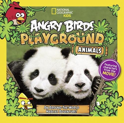 Angry Birds Playground: Animals (National Geographic Kids): Jill Esbaum