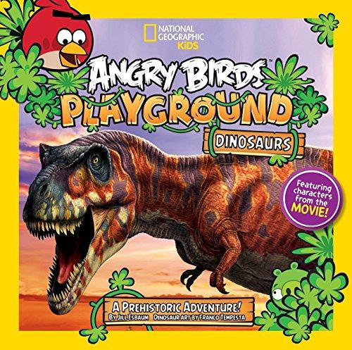 9781426313240: Angry Birds Playground: Dinosaurs: A Prehistoric Adventure! (Angry Birds Playgrounds)