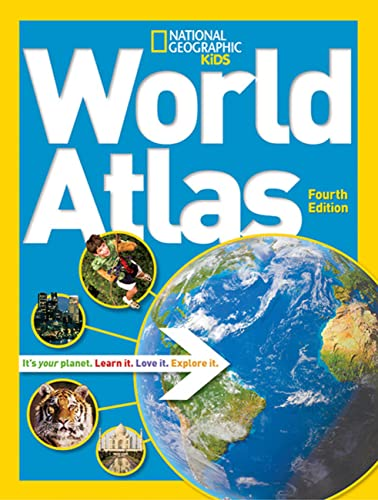 9781426314056: National Geographic Kids World Atlas