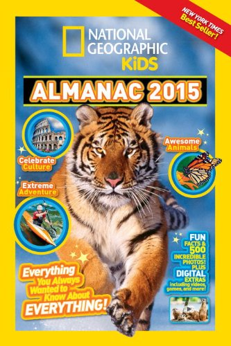 9781426314636: National Geographic Kids Almanac 2015, Canadian Edition