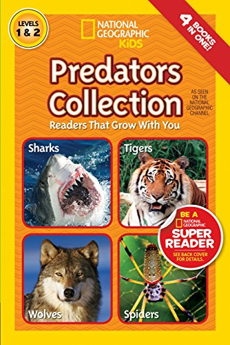 9781426316104: National Geographic Readers: Predators Collection: Readers That Grow With You