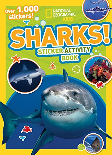 9781426317743: Sharks Sticker Activity Book [With Sticker(s)] (National Geographic Kids)