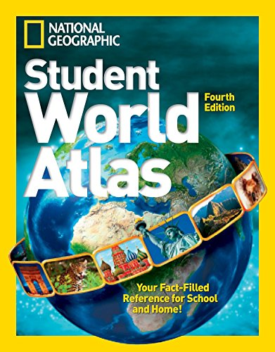 National Geographic Student World Atlas (Library Binding): National Geographic Kids