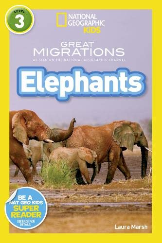9781426318030: Elephants (National Geographic Kids Readers (Level 3))