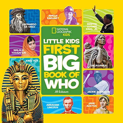 9781426319174: National Geographic Little Kids First Big Book of Who (Little Kids Big Book)