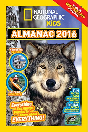 9781426319235: National Geographic Kids Almanac 2016, Canadian Edition: Everything You Always Wanted to Know About Everything!