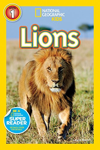 9781426319402: Lions (National Geographic Readers)