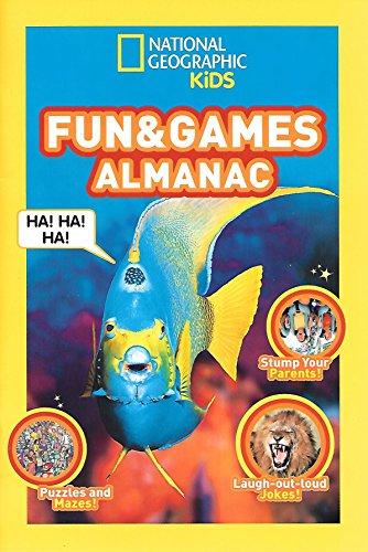 National Geographic Kids Fun & Games Almanac: National Georgraphic