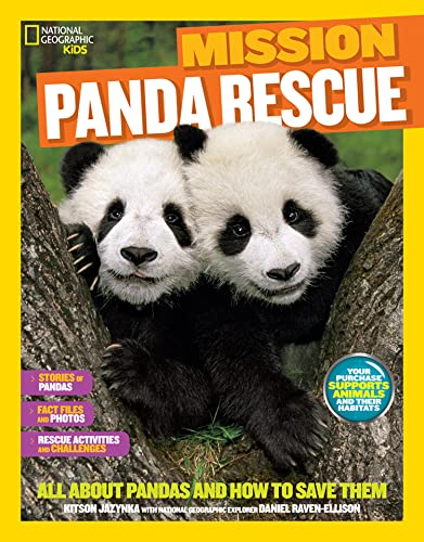 9781426320880: National Geographic Kids Mission: Panda Rescue: All About Pandas and How to Save Them (NG Kids Mission: Animal Rescue)