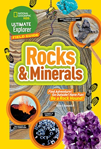 9781426323010: Ultimate Explorer Field Guide: Rocks and Minerals (National Geographic Kids Ultimate Explorer Field Guide)